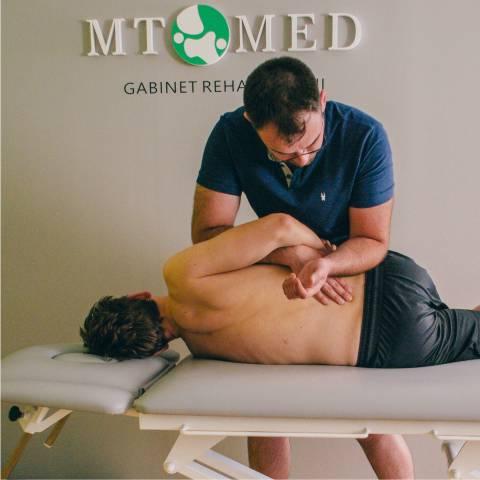 rehabilitacja zespołów bólowych kręgosłupa
