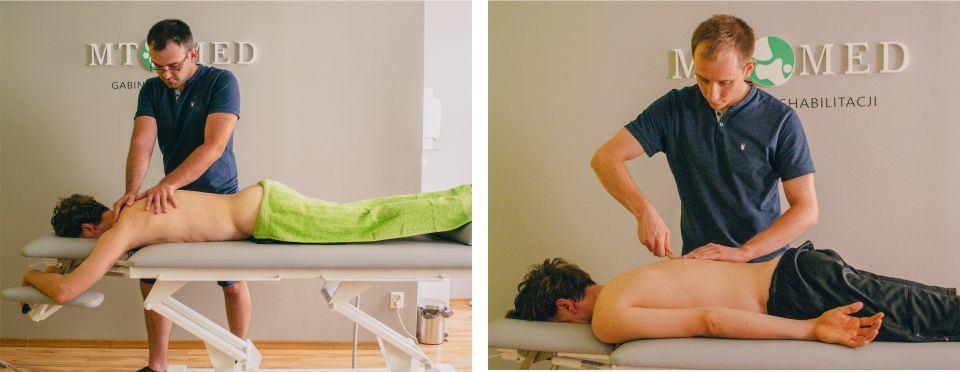 masaż leczniczy - terapia