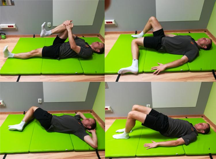 Ćwiczenia usprawniające lędźwiowy odcinek kręgosłupa
